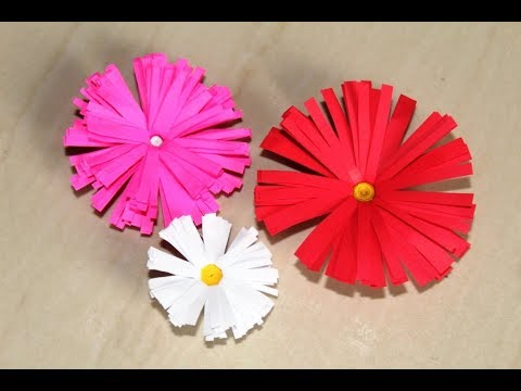 Diy How To Make Beautiful Paper Flowers Easy Origami Flowers