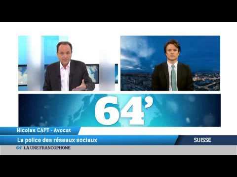 Suisse: La police des réseaux sociaux.