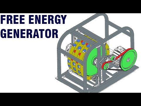 Free Energy Generator - Mike Brady Permanent magnet machine