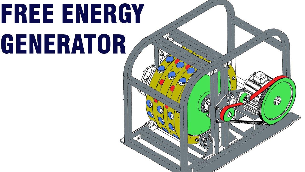 Free Energy Generator Mike Brady Permanent Magnet Machine Youtube