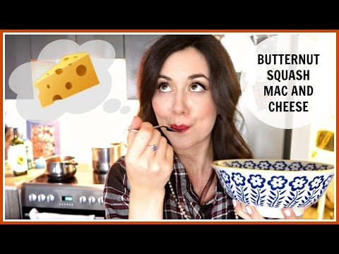 BUTTERNUT SQUASH MAC AND CHEESE | #NouvelleFall DINNER RECIPE