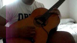 Santana - Africa Bamba (cover by Eric Jimenez)