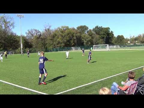 October 8 2017 versus Sporting Academy U13 1st half