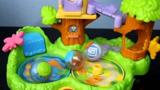 Fisher Price Roll A Rounds Jungle Friends Treehouse Musical