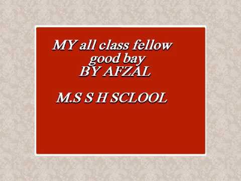 Funny clip song in M.S s h school