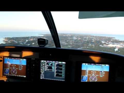 Landing at Ocean Reef Club in a new G1000-equipped Cessna Grand Caravan