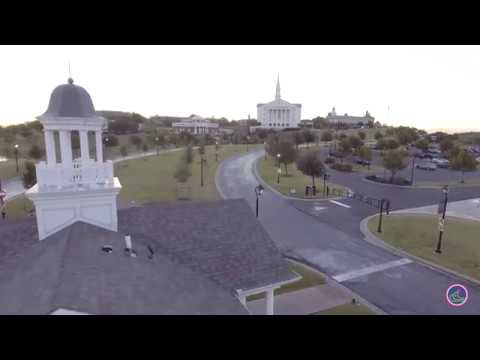 Dallas Baptist University Campus Flyover!