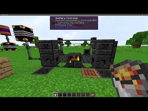 Minecraft: Tinkers Construct 1.12.2 | How to make Lavawood/Firewood and put Lava into Smelter