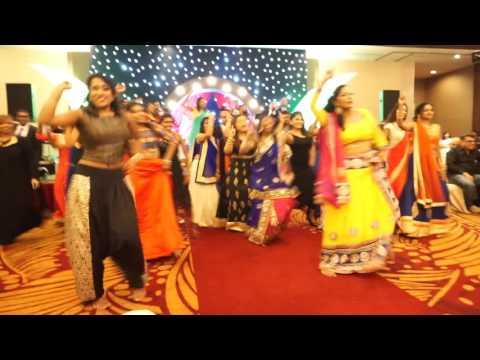 JaySha wedding reception flashmob dance