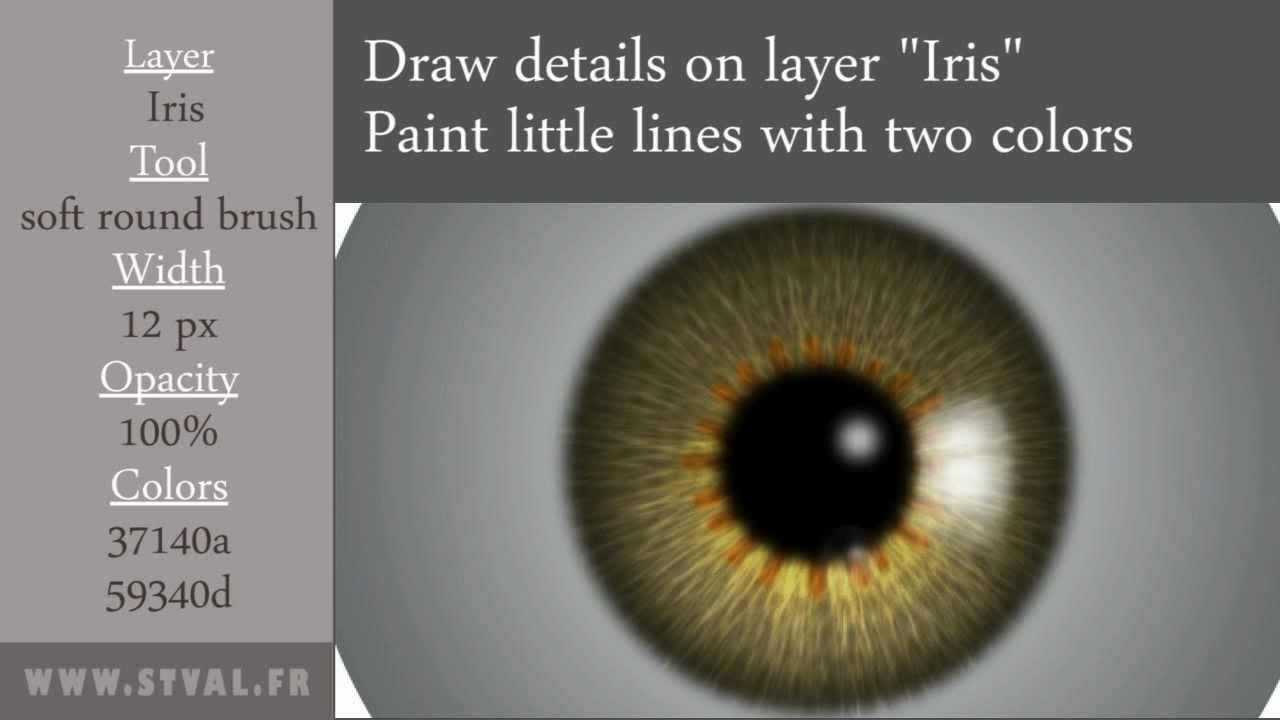 3 Ways to Paint Eyes