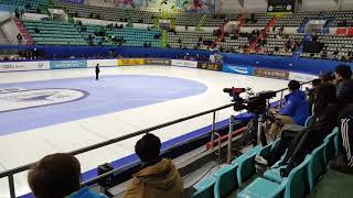 Short track world cup 2017-18 Seoul Ladies 1000M Choi Minjeong - Elise Christie and Marianne St-Gela