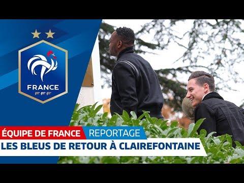 Dernier stage à Clairefontaine pour les Bleus, Equipe de France I FFF 2018