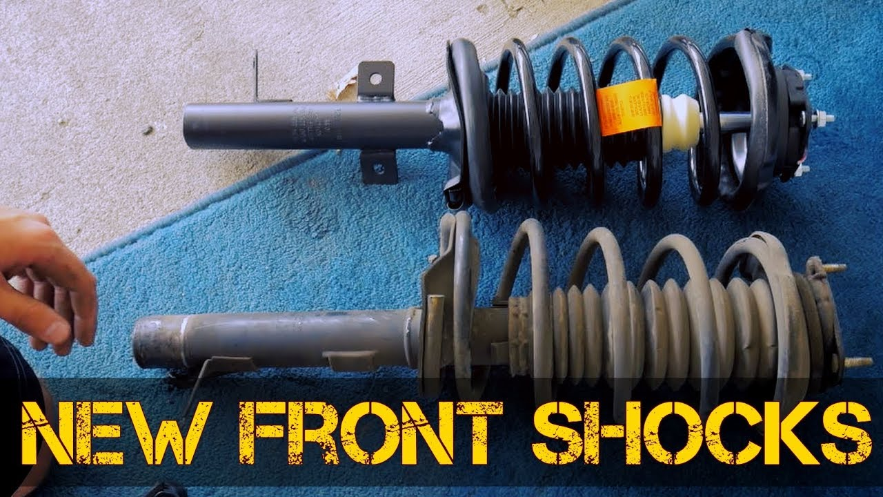 How To Replace Front Shocks Springs And Struts In A Ford Focus 2001 All Years Nearly Same