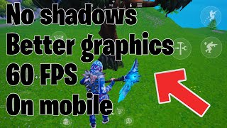 HOW TO TURN OFF SHADOWS IN FORTNITE MOBILE