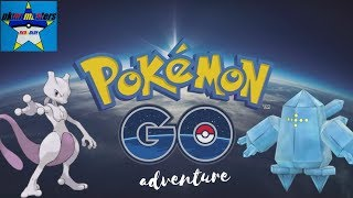 Pokemon Go Red and Blue Adventures: Mewtwo Ex Raid and 4th of July Raiding