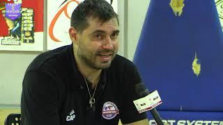 Θωμάς Λαζάρου και Γιώργος Ζαχαριάδης μετά την κατάκτηση της δεύτερης θέσης του πρωταθλήματος