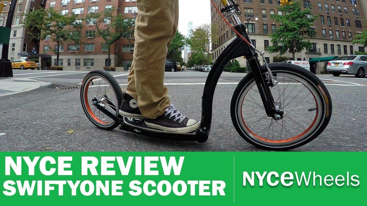 Swifty One Review   Folding Scooter   Kickbike