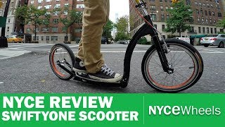 Swifty One Review | Folding Scooter | Kickbike