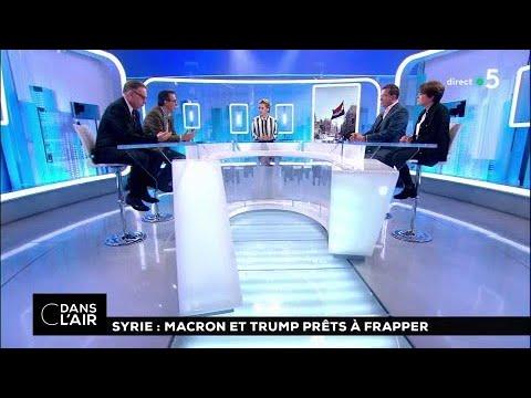Syrie : Trump et Macron prêts à frapper #cdanslair 10.04.2018