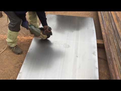 Видео Лист металла 5 мм 1 м2