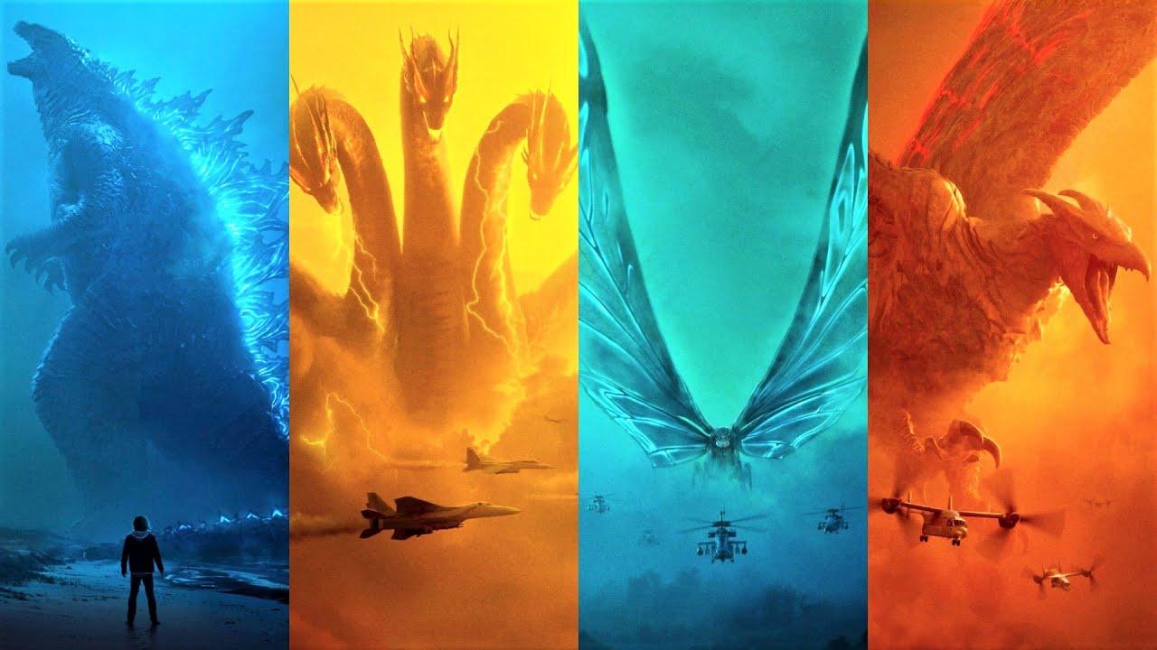Download Godzilla King of the Monsters Boston Battle - Godzilla & Mothra Vs Rodan & Ghidorah