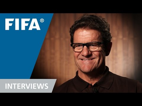 Fabio Capello talks football
