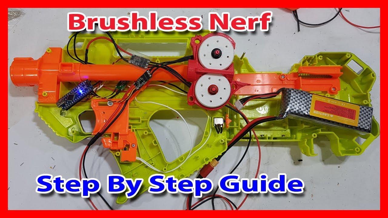 u26a1 ufe0f brushless nerf motor esc step by step guide  stryfe