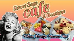Sweet Sage Cafe where Marilyn Monroe ate!