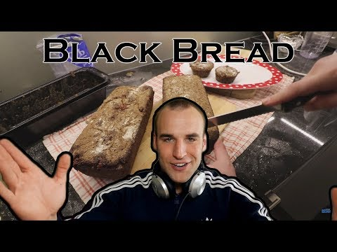 How to make black bread?