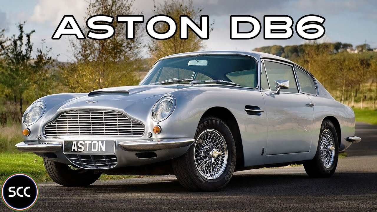 Aston Martin Db6 5 Speed Manual 1968 Full Test Drive In Top Gear Engine Sound Scc Tv Youtube