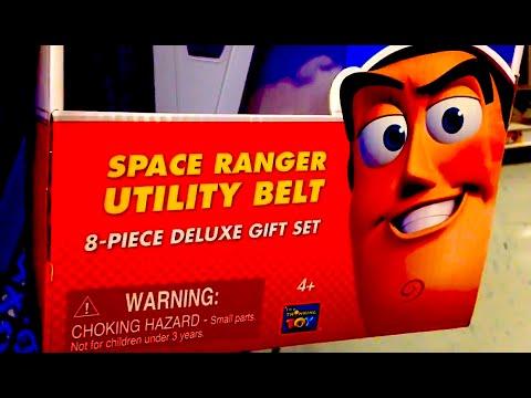 Space Ranger Utility Belt Toy Story Buzz Lightyear 8 Piece