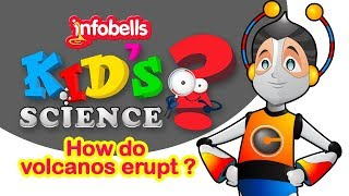 How Volcano Erupts | Kids science Experiments & Learning Videos | Infobells
