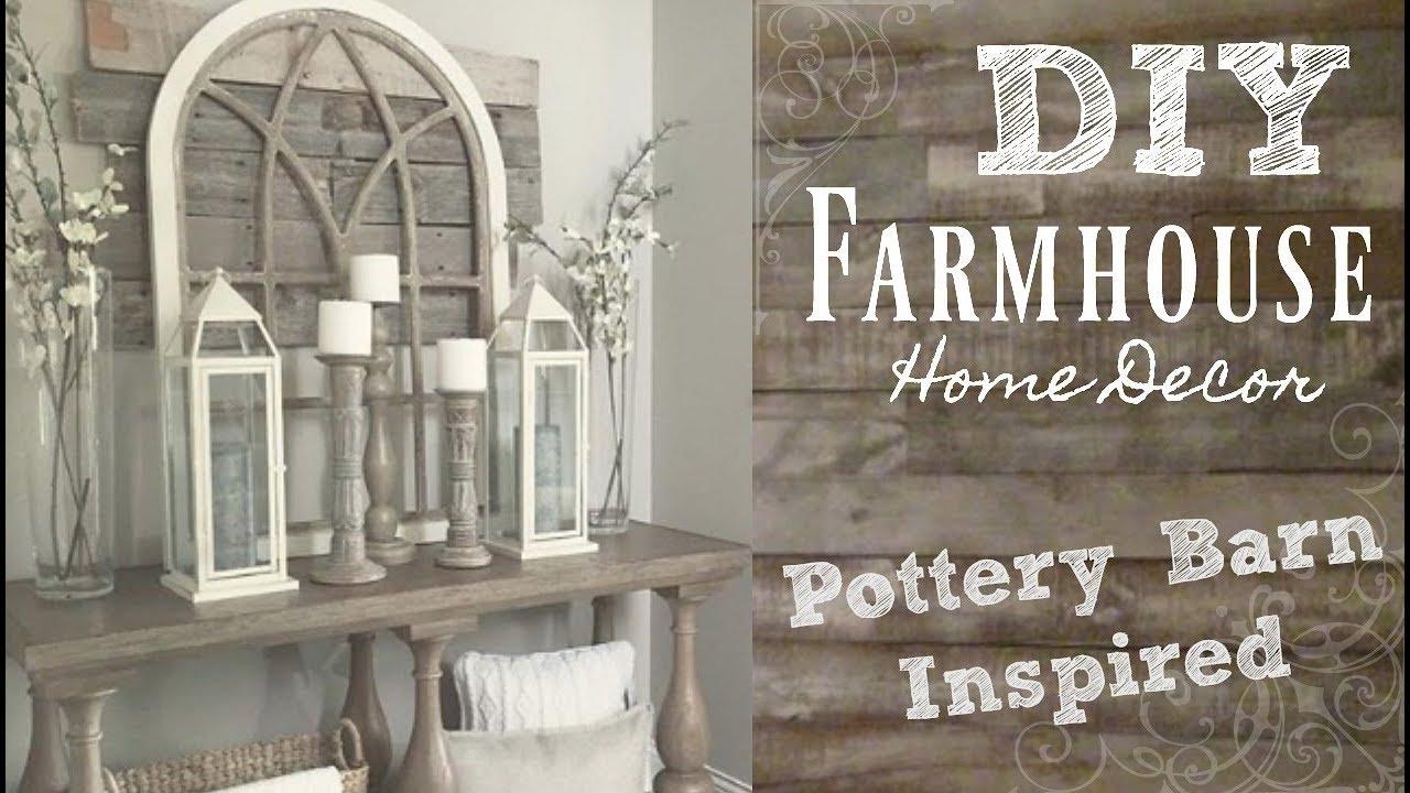 DIY Industrial Farmhouse Style Home Decor