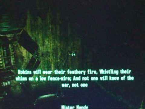 The Poetry of Fallout 3: There Will Come Soft Rains - YouTube