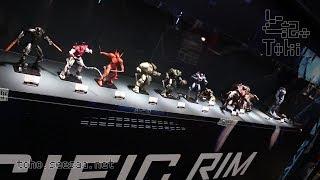 [東京コミコン2017] ROBOT魂 PACIFIC RIM SERIES display