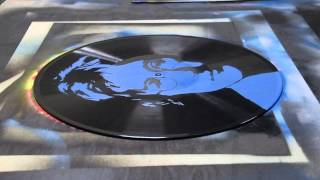 Art on Vinyl - John Lennon stencil