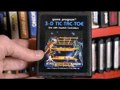 3-D Tic-Tac-Toe (Atari 2600) video game review by Mike Matei