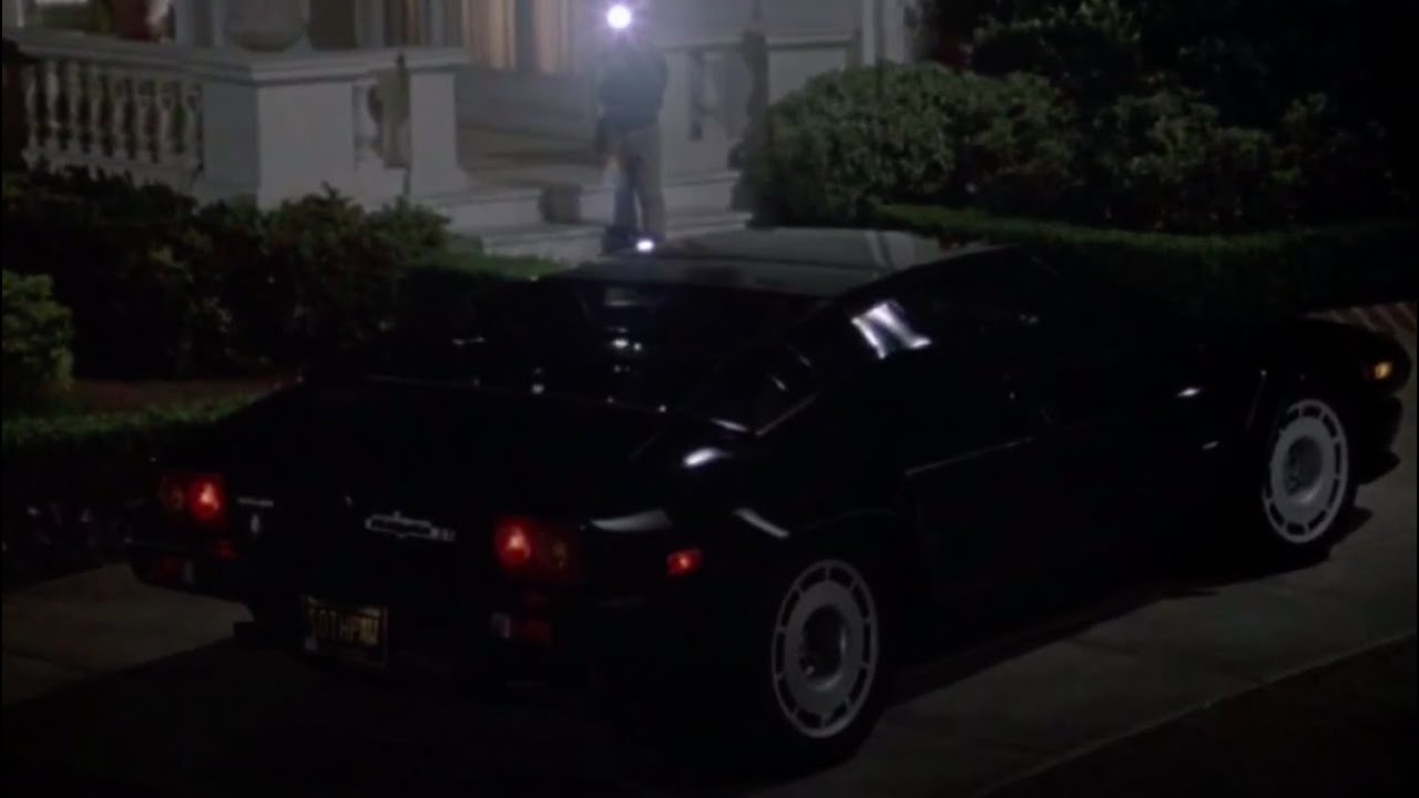 Jalpa And Countach Lp500 S In Rocky Iv 1985 Youtube