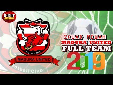 Resmi   Daftar Pemain Lengkap Madura United 2019   Transfer Mp3