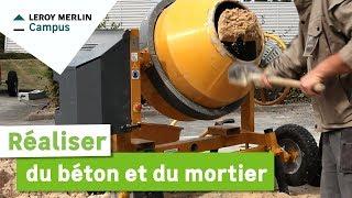 R alisation d 39 une b tonni re de b ton michel ridel - Comment faire du mortier ...