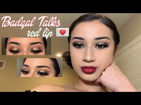 classic valentines day makeup tutorial
