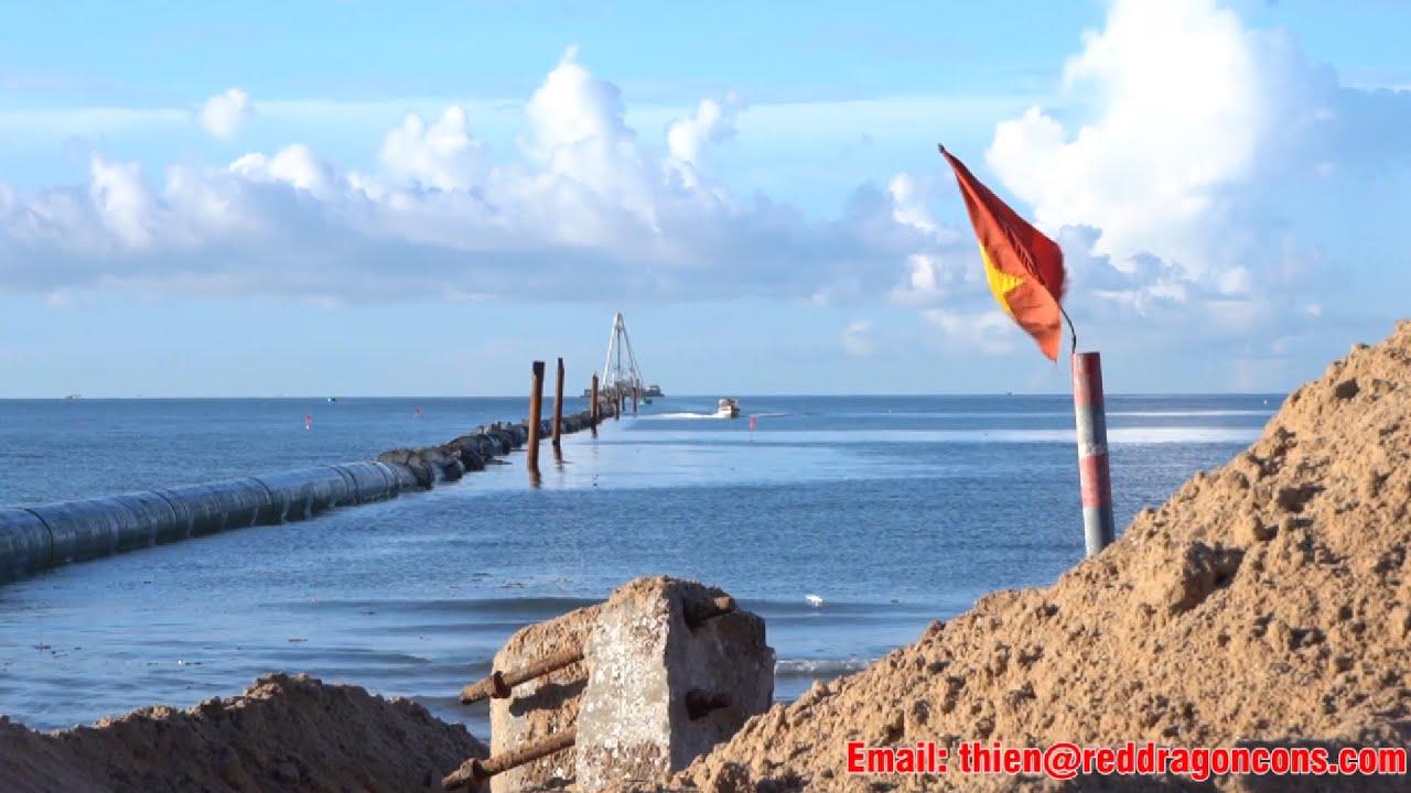 HDPE nuôi tôm | Công nghệ dẫn nước biển nuôi tôm lần đầu tiên trên thế giới | HDPE Hong Long