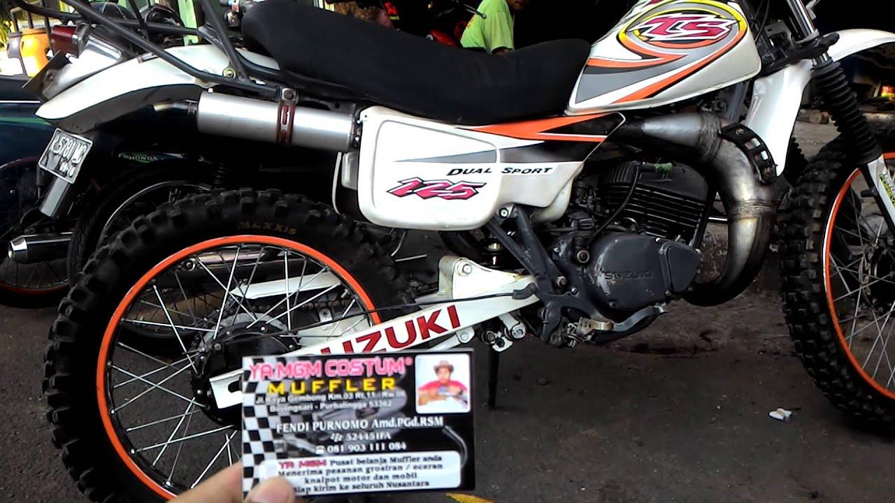 Download Koleksi Modifikasi Motor Trail Ts 125 Terupdate Velgy Motor