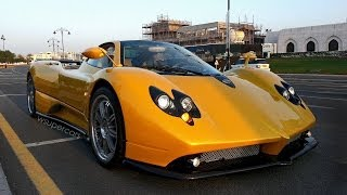 Pagani Zonda F in Muscat, Oman (50th video, 50 subscribers and 15,000 total views special)