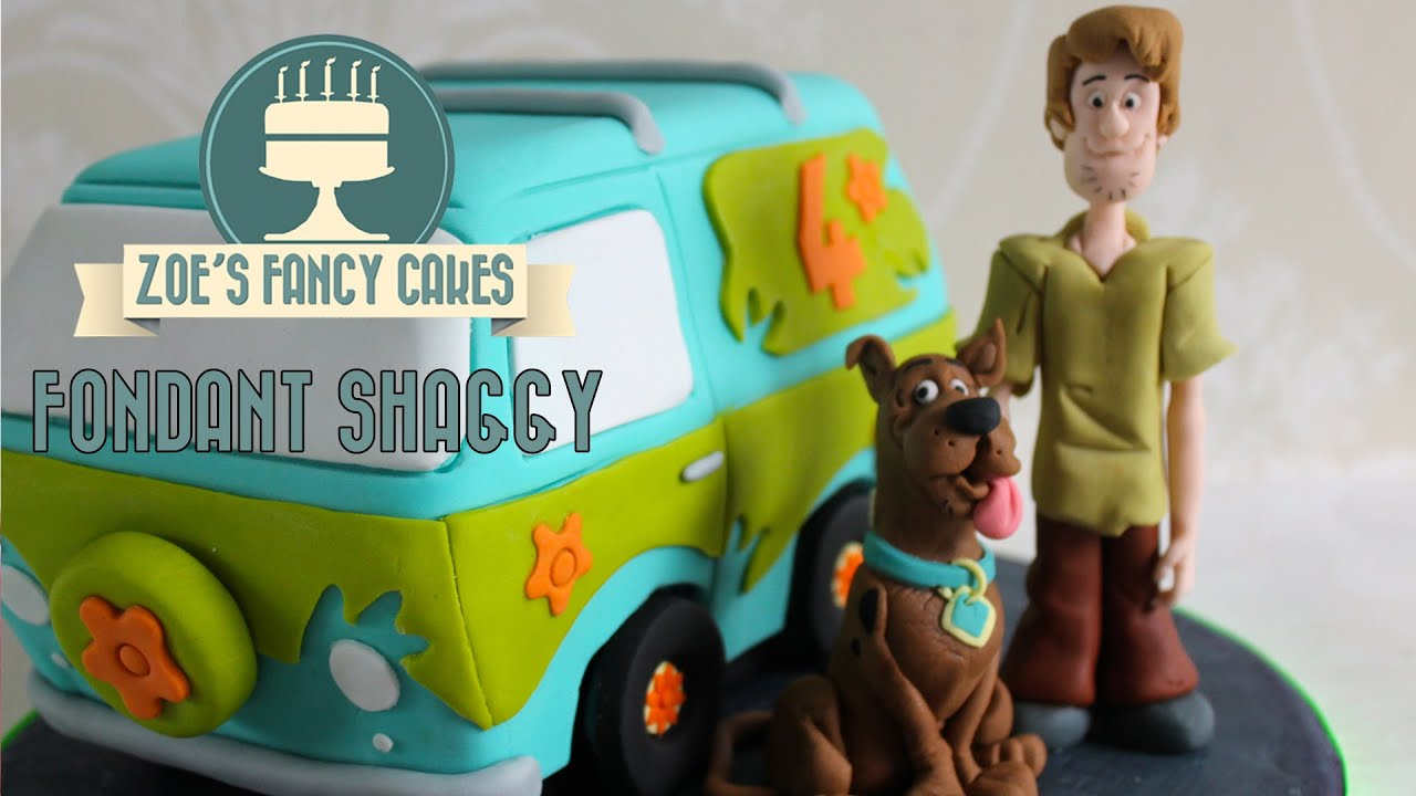 How To Make A Scooby Doo Cake