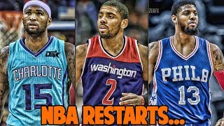 What if The NBA Restarted w/ a FANTASY DRAFT? NBA 2K17 MyLeague Rebuild