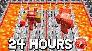 ⏰ 24 HOUR MINECRAFT CHALLENGE! - DAY 2 ⏰ (Minecraft Trolling) W/ MooseCraft & UnspeakableGaming