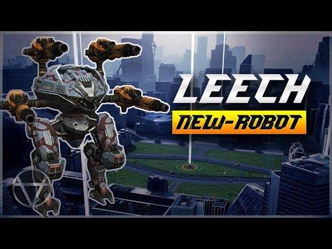 WR 🔥 New Robot LEECH Gameplay - Test Server  War Robots