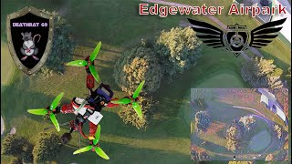 Flite Test Edgewater AirPark Minerva Ohio   Open House 9-29-2018   Freestyle Flight with friends