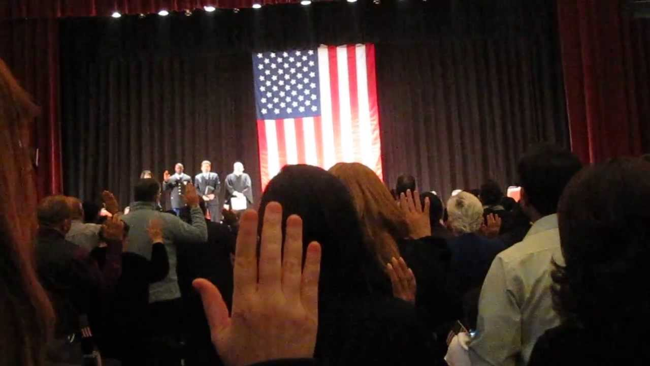 Lowell Memorial Auditorium Nov 20 2013 Naturalization Ceremony